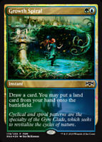 Growth Spiral - Foil FNM Promo 2019 x1 Magic the Gathering 1x FNM Promos mtg