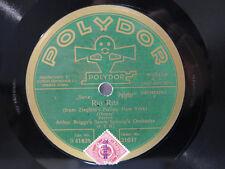 78 tr/min ARTHUR BRIGGS Savoy syncops-rio rita-oiseau rare.