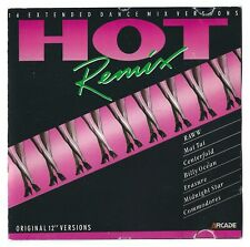 "Hot remix: original 12"" versions  CD (Erasure, The commodores, Billy Ocean etc.)"