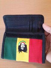 BOB Marley Bag Wallets Reggae Rasta Jamaica cotton PATCHWORK PURSE Zipper hippie