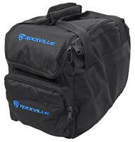 Rockville Transport Bag for 4) Chauvet SLIMPAR38 SLIMPAR 38 Wash Lights Par Cans