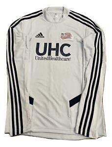 Adidas MLS New England Revolution Training Top Light Blue DP4758