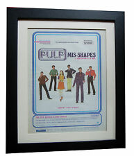 PULP+Mis Shapes+Wizz+POSTER+AD+RARE ORIG 1995+QUALITY+FRAMED+EXPRESS GLOBAL SHIP