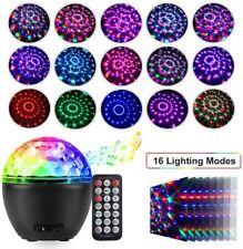 LED Discokugel Kinder Partylicht/ Projektor Lampe Beleuchtung/Musik Lichteffekte