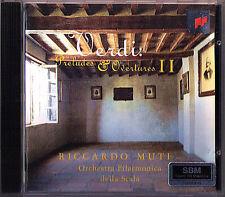 Riccardo Muti: verdi Prelude Overtures II Alzira Stifelio concretarsi CORSARO CD SONY