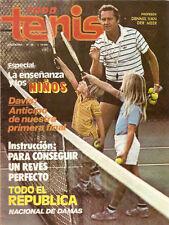 TENNIS GUILLERMO VILAS DAVIS CUP  Rare Mag Arg 1981