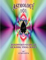 Astrology 101 : Beginner's Guide to Reading Your Chart, Paperback by Surya, G...