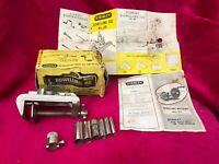 VINTAGE STANLEY # 50 DOWELING JIG WITH BOX & INSTRUCTIONS