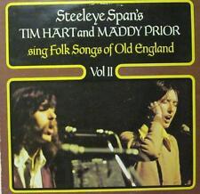 Tim Hart & Maddy Prior(Vinyl LP)Folk Songs Of Old England Vol 2-Mooncrest-CREST2