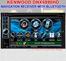 KENWOOD DNX6990HD NAVIGATION RECEIVER W/ BUILT IN BLUETOOTH HD RADIO DNX6990HDB