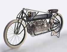 "Vintage Motorcycle 1906 Curtiss V-8  8 x 10""  Photo Print"