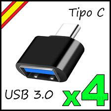 Adaptador OTG Tipo C USB Macho 3.0  Datos Cable Conversor 3.1 Tipo-C USB-C