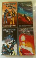 Macross Plus Anime VHS Collection Parts 1, 2, 3 & 4 Complete Manga Entertainment