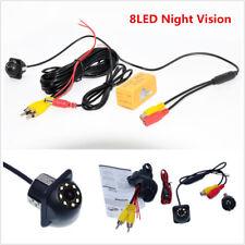 8 LED HD CCD Auto Car SUV Rear View Backup Reversing Parking Camera Night Vision