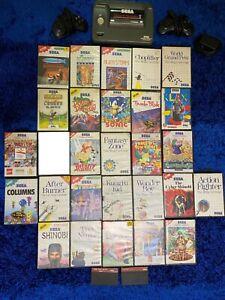 Sega master system 2 and Games