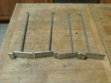 "40 pcs Metal Slatwall Display Hooks 11"""