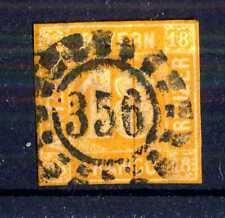GERMAN STATES - BAYERN - 1850 - Grande cifra in cerchio. E5325