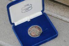Johnson Matthey 'Canada Dry' .999 Silver JM 1 Ounce Round in Presentation Box