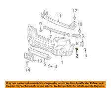 HONDA OEM Front Bumper Bumper Cover Screw 90109SS0000