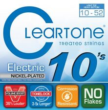 Cleartone 9420 Nickel-Plated Electric Guitar Strings, Lt Top/Heavy Bottom, 10-52