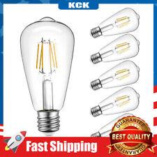 6 Pack Dimmable LED Bulb Light 2700K Warm White 60W E26 Base Lamp