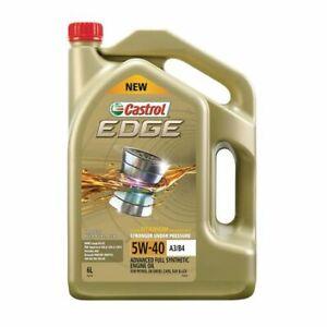 Castrol EDGE 5W-40 Engine Oil A3/B4 5L 3421235 fits Ferrari 512 BB 4.9 (237kw...