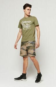 O'Neill Holiday Mens short sleeve T shirt. Size Large, Winter Moss Green. BNWT