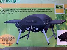 Gasgrill  tragbarer Tischgrill 2 Brenner Tischgasgrill klappbar Edelstahl