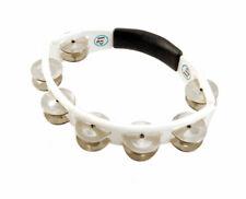 Lp Cyclops Handheld Tambourine - White Steel - Used