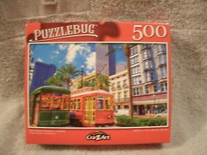 New Orleans Streetcars, Louisiana 500 Piece Puzzle