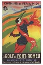 Chemins de Fer du Midi by Leonetto Cappiello Fine Golf Art Print Decor 584015