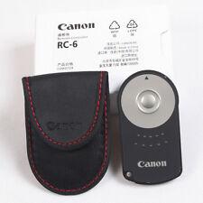 TELECOMANDO RC-6 CANON EF 70D 6D 760D 600D 7D 5D 1000D MARK RC-1 RC-5 60D 650d