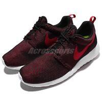 Nike Roshe One Gym Red Black Rosherun Mens Running Shoes Sneakers 511881-604