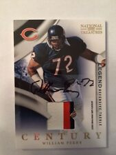 2009 National Treasures Century WILLIAM PERRY Chicago Bears Auto Patch #1 of 15