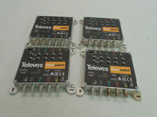 More details for lot of 4 televes nevoswitch 5 inputs x 5×5 4/4db splitter