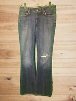 Citizens of Humanity Women's Slim Boot Cut Medium Wash Distressed Jeans! Size 28
