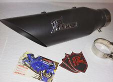 2002 - 2003 Yamaha YZF R1 exhaust  RLS Exhaust Punisher Series Black