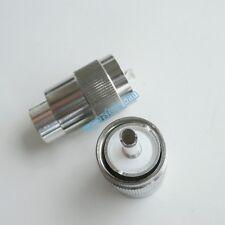 10X UHF PL259 male PL-259 Plug solder RG8 LMR400 RG165 RG213 cable RF connector