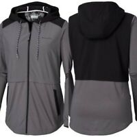 Columbia Women's Sandy Trail Full Zip Lightweight Jacket Size Medium M Gray NWT!