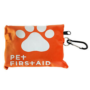 American Pet Supplies Dog First Aid Kit   19 Piece Pet Emergency Travel Kit For