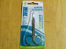 2 scissor lot TRIM TOOLS STAINLESS STEEL CUTICLE SCISSORS 10300 sealed