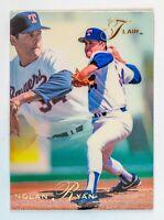 Nolan Ryan #286 (1991 Flair) Baseball Card, Texas Rangers, HOF
