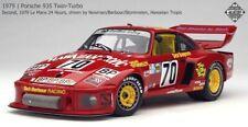 Exoto 1/18 Porsche 935 #70 2nd 1979 Le Mans Paul Newman RLG19100 New Rare Look