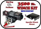 3500lb Mad Dog Winch Mount Combo Arctic Cat 05-17 400 450i 500 500i 550 650 700