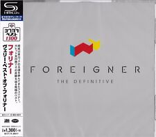 THE DEFINITIVE FOREIGNER 2017 JAPAN RMST SHM HIGH FIDELITY FORMAT CD+1