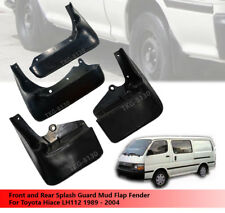 Front And Rear Splash Guard Mud Flap Fender For Toyota Hiace LH112 1989 - 2004