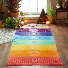New Boho Chakra Tapestry Towel Yoga Mat Sunscreen Shawl Beach Blanket Decor hot