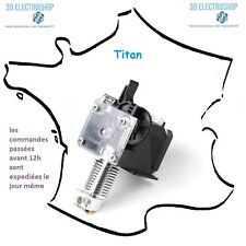 kit extrudeur titan V2 pour extrusion bowden ou direct 1.75 et 3mm