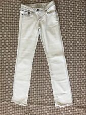 G-Star Raw Jeans Skinny Size 27 Low Rise Light Wash