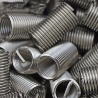 10 Pcs 12mm Long 304 Stainless Steel Wire Thread Inserts M6x1mmx2D